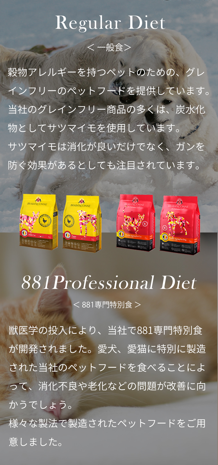 Regular Diet / 881Professional Diet